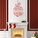 植物の / クリスマス / カートゥン / 文字 / ロマンティック / ファッション / フローラル柄 / ホリデー / 形 ウォールステッカー プレーン・ウォールステッカー , PVC 92cm x 57cm ( 36in x 22in )