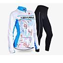 KEIYUEM® Biciklistička majica s tajicama Žene Dugi rukav BiciklVodootpornost / Prozračnost / Quick dry / Vjetronepropusnost / Izolacija /