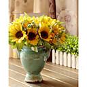 Polyester Slunečnice Umělé květiny