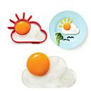kreativni oblak pečena jaja silikagel