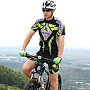 NUCKILY® Biciklistička majica s kratkim hlačama Uniseks Kratki rukav BiciklVodootpornost / Prozračnost / Anatomski dizajn / Ultraviolet