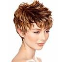 atraktivní blondýnka hnědý móda dámské krátké paruku