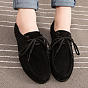 Ženske cipele - Oksfordice - Aktivnosti u prirodi / Ležerne prilike - Tkanina - Niska potpetica -Cipele zatvorenih prstiju / Udobne