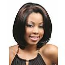 nově příchozí módní mix barev paruka středně dlouhou rovnou ženský syntetické paruky vlasy paruka pro denní