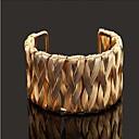 ブレスレット バングル 銀メッキ / ゴールドメッキ 結婚式 / パーティー / 日常 / カジュアル ジュエリー ギフト ゴールデン / シルバー,1個