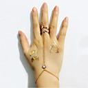 Prstenje Vjenčanje / Party / Dnevno / Kauzalni Jewelry Legura Žene Midi prstenje 1pc,Prilagodljive Zlatna