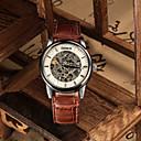 Muškarci Ručni satovi s mehanizmom za navijanje Automatski Koža Grupa Crna / Smeđa Brand-