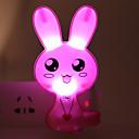 Energeticky úsporné LED karikatura králík světlo ovládané režim noční světlo lampy