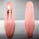 Lolita perika Sweet Lolita Princeza Extra Long Narančasta Lolita Perika 100 CM Cosplay Wigs Jednobojni Wig Za Žene