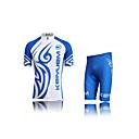 KEIYUEM® Biciklistička majica s kratkim hlačama Uniseks Kratki rukav BiciklVodootpornost / Prozračnost / Quick dry / Vjetronepropusnost /