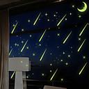 Crtani film / Romantika / Moda / Odmor / Pejzaž / Oblici / Fantazija Zid Naljepnice Svjetleće zidne naljepnice , PVC24.5cm x 21cm ( 10in