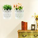 skladištenje stalak zidni ukras cvijeta koš umetnuta simulacija