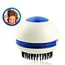 mini kružna električna vibrirajuće masaže kose češalj s apsorpcijom peruti (2x aa)