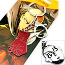 Více doplňků Inspirovaný Jeden Punch Man Cosplay Anime Cosplay Doplňky Klíčenka Czerwony / Stříbro Stop Pánský