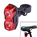 3-mod 2-vodio crveno svjetlo bicikla bicikla na čelu praska treperi stražnje svjetlo (2 x AAA)