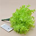 家の装飾のための1 piecehigh品質パセリ草の花シルクフラワーシルクフラワー造花(緑)