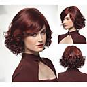 módní syntetické nebo africký Američan paruky dlouhé vlnité vlasy paruka pro ženy sexy přírodní paruky s Bangs sw0383