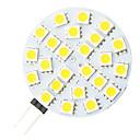 G4 4,8 W 24-vodio 5050 topla bijela okruglog oblika LED žarulja