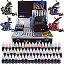 solong tetování kompletní tetování sada 4 PRO stroje 54 inkousty napájení pedálů jehly úchytky tipy tk456