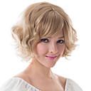 Europa i SAD-kemijskih vlakana vlasulja kape plavuša fleeciness valovita žena vlasulja