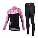 CHEJI® Biciklistička majica s tajicama Žene Dugi rukav BiciklProzračnost / Quick dry / Ultraviolet Resistant / Lagani materijali / Pad 3D