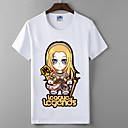 lol liga legende prikupljanja slava serija Cosplay t-shirt junaci sindikata pamuk likra