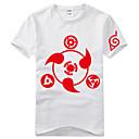 Inspirovaný Naruto Itachi Uchiha Anime Cosplay kostýmy Cosplay T-shirt Tisk Czarny Krátké rukávy Trička