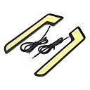 2 kom klip je vodio car dnevna svjetla za dnevnu DRL svjetiljka uključivati i isključivati rasvjetu DC 12V