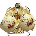 keramický šálek čaje 2 * 2ks odpolední čaj porcelán Britský styl