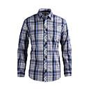JamesEarl Muškarci Kragna košulje Dugi rukav Shirt & Bluza Crna Fade - DA202029126
