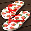 Ženske cipele-Japanke-Aktivnosti u prirodi / Ležerne prilike-Sintetika-Ravna potpetica-Cipele otvorenih prstiju / Papuče-Crvena