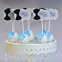 Figure za torte Non-personalizirane Smiješno & Nerado Kartica papira Vjenčanje / Godišnjica / Rođendan Uzde Obala / PlavPlaža Teme /