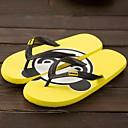 Ženske cipele-Japanke-Aktivnosti u prirodi / Ležerne prilike-Sintetika-Ravna potpetica-Cipele otvorenih prstiju / Papuče-Crna / Žuta /