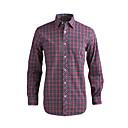 JamesEarl Muškarci Kragna košulje Dugi rukav Shirt & Bluza Srebrna - MB1XC000501