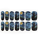 1pc Van Gogh The zvjezdano nebo nail art naljepnice 14 se držati sva pošta