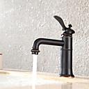 Set de centre Mitigeur un trou in Bronze huilé Robinet lavabo