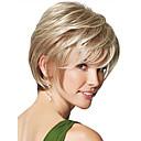prirodna plavuša ravno kratka vlasulja za žene modne perika