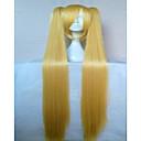 3 boje stilski Cosplay perika 28 centimetara ravno sintetička kosa animiranog perika djevojka crtani perika strana perika