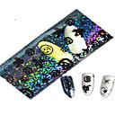 1pcs 100 * 4cm transparentna Halloween bundeve duh lijepe aminalnu slike na noktima svjetlucavo naljepnice za nokte Ukras hw01-04