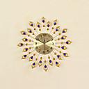円形 / ノベルティ柄 コンテンポラリー 壁時計,動物 / 抽象風 / 結婚式 / 家族 / 友達 ガラス / メタル 54cm x 54cm ( 21in x 21in )