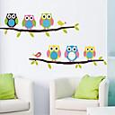 Zvířata / Zátiší / Módní / Volný čas Samolepky na zeď Samolepky na stěnu,PVC 54*35*0.1