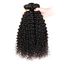 Lidské vlasy Vazby Indické vlasy Kinky Curly 3 kusy Vazby na vlasy