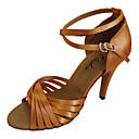 Može se prilagoditi - Ženske - Plesne cipele - Latin / Balska sala - Satin Crn / crven / Plav / Zlato / roze