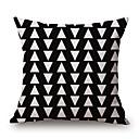 Pamuk / Posteljina Navlaka za jastuk,Geometrijski / Grafike Modern/Comtemporary / Neformalan