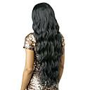 evawigs perika 10-26 inch tijelu vala 100% ljudska kosa čipke ispred perika prirodnu crnu boju 130% gustoće