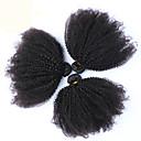 """6a mongolian kinky kudrnaté vlasy, panna 3 ks mongolian afro výstřední kudrnatými vlasy 10 """"-26"""" lidské prodlužování vlasů"""