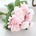 1 1 Une succursale Polyester Roses Fleur de Table Fleurs artificielles 30CM