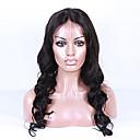 18-26 inča prirodno crna boja peruanski djevičansko kosa tijelo val puna čipke perika s baby kosu