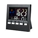 Vremenska stanica alarm boja elektronski sat Termometar higrometar sn192