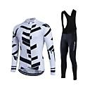 Fastcute® Biciklistička majica s tregericama Žene / Muškarci / Uniseks Dugi rukav BiciklProzračnost / Ugrijati / Quick dry / Podstava od